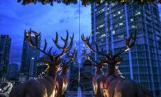 В Малайзии открылся необычный ресторан в санях Санта-Клауса на высоте 45 м над землей