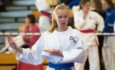Pühendumus ja väärt treener viisid Anna Soku esimesel katsel karate juunioride EM-il kullale.