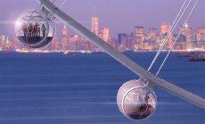 Гигантское колесо обозрения появится в Нью-Йорке к 2019 году
