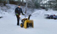 ROOGIME LUND | Puhur või frees on lumelabidale tõhus asemik
