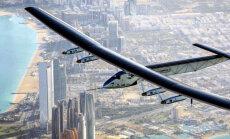 Самолет на солнечной энергии совершил кругосветное путешествие