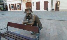 ФОТО читателя Delfi: Самый известный француз Братиславы