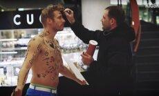 VIDEOEKSPERIMENT: Soome mees lasi eestlastel oma paljal ihul põhjanaabrite kohta arvamust avaldada