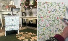 TEE ISE: lillemustritega kaunistatud romantiline kapike
