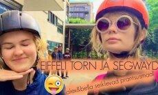 VIDEOBLOGI: Tippmodel Alexandra väisas sõbrannaga Eiffeli torni!