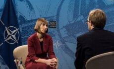 President Kersti Kaljulaid rääkis Brüsselis Kaarel Kressale nii Eesti julgeoleku- kui ka sisepoliitikast.