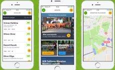 SEB Tallinna Maratonil aitab orienteeruda uue põlvkonna mobiiliäpp