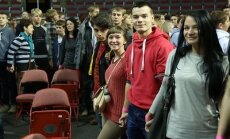 ФОТО: Латвийские школьники побили рекорд Гиннеса