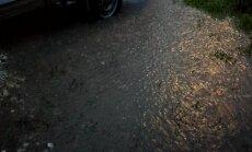 DELFI FOTOD ja VIDEOD: Tartus sadas mõne minutiga meeletu kogus vihma!