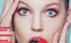 Esikaanetüdruk: Eesti modell, kes poseeris eelmisel aastal arvukate rahvusvaheliste ajakirjade esikaantel