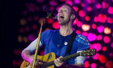 Coldplay Glastonbury festivalil 2016
