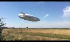 ВИДЕО: Крупнейшее в мире воздушное судно упало в Англии