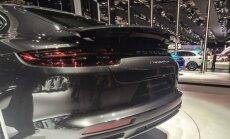 Pilk peale, käsi külge: uus Porsche Panamera, näidispeatükk disainiõpikust