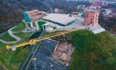 Восстанавливать гору Гедиминаса в Вильнюсе будут пять лет