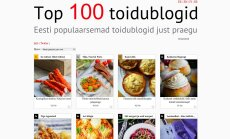 Eesti 100 parimat toidublogi on saanud ühe mütsi alla