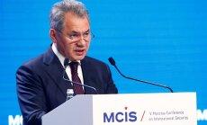 Šoigu: Venemaa lääneossa moodustatakse kolm uut diviisi NATO jõudude suurendamise vastu