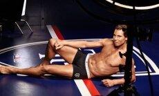 Tennisekuulsus Rafael Nadal fotosessioonil