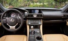 Proovisõit: Lexus RC 200t: tagaistmele pole teil niikuinii asja