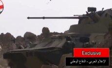 """Vene """"rohelised mehikesed"""" osalevad lahingutes Süürias, küll mitte islamiriigi vastu"""