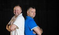 Aivar Kuusmaa (vasakul) ja Gert Kullamäe lähevad treeneripingil vastamisi juba tuleval neljapäeval Alexela korvpalli meistriliiga tähtede mängul.