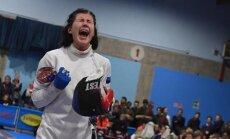 Julia Beljajeval oli pärast võitu raske tundeid vaos hoida.