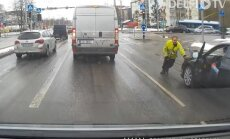 VIDEO: Vaata ja imesta – üks jabur situatsioon Tallinna liikluses teise otsa
