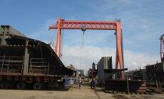 Türgis parvlaevu ehitavad eestlased pidasid tööd tähtsamaks kui ohtu