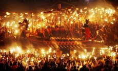 Жгут не по-детски: в Шотландии прошел фестиваль викингов (ФОТО)