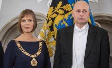 President Kersti Kaljulaid abikaasa Georgi-Rene Maksimovskiga