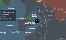 VÕRDLEV SKEEM: Mis pilt avaneb, kui lahingud Aleppo all panna üle Tallinna mõõtkavasse?