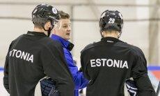 Jäähokikoondis treening Škoda jäähallis