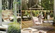 FOTOD │ Täiuslikku aeda kaunistab efektne kiik