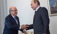 FOTO, mis on pannud kogu maailma imestama: Blatteri ja Putini käepigistus