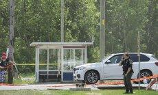FOTO: Kanadas lasti oma kodu lähedal BMW maasturis maha kõrge maffiapealik