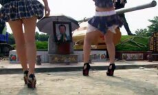 VIDEO: Seksikad lahkumised on lõppenud: Hiina kultuuriminister keelas ära stripparid matustel!