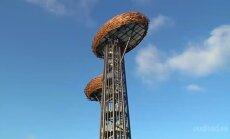 Rõuge Ööbikuorus avati Võrumaa kõrgeim vaatetorn