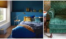 Kuidas paistavad interjööris tänavused kõige trendikamad värvid?