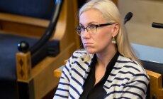 Marina Kaljurand ametivannet andmas, peaministri poliitiline avaldus