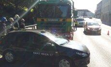 Tartus juhtus Riiamäel avarii