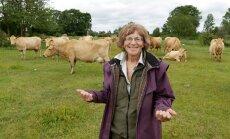 """""""Maakarja lehmade piim on väga toitainerikas, sobides suurepäraselt nii jäätiseks, võiks kui juustuks,"""" teatab Liia Sooäär."""