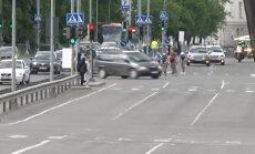 Süüdimatu autojuht pööras ratturitele võistlusrajale ette