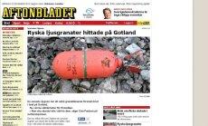 Gotlandi rannikult on viimasel ajal leitud mitmeid Vene allveelaevade suitsugranaate