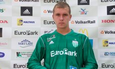 FC Levadia mängija Marek Kaljumäe