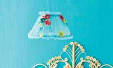 Saagu valgus ehk kuidas ise teha omapärane lambikuppel?