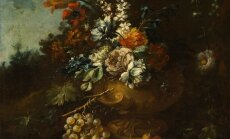 Gaspare Lopez. Still Life with Flowers and Fruit. Ca 1710. Art Museum of Estonia