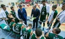 Valmiera meeskond minutilisel vaheajal