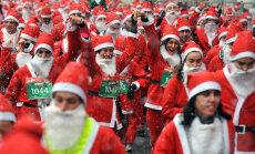 ФОТО и ВИДЕО: Зачем 7000 Санта-Клаусов и эльфов пробежались по центру Мадрида