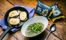 Vastlapäeva retsept Põhjaka mõisa kokkadelt: sibulasupp ahjus röstitud juustusaiadega