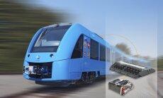 Coradia iLint - futuristlik reisirong, mis juba 2017. a kasutab kütusena vaid vesinikku