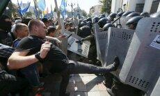 Meeleavaldajate ja politsei kokkupõrge Kiievis